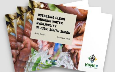 Assessing Clean Drinking Water Availability in Juba, South Sudan