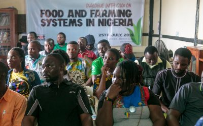 Civil Society Organizations in  Edo State Call for a Ban on GMOs
