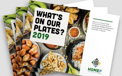 What's on our Plates? 2019