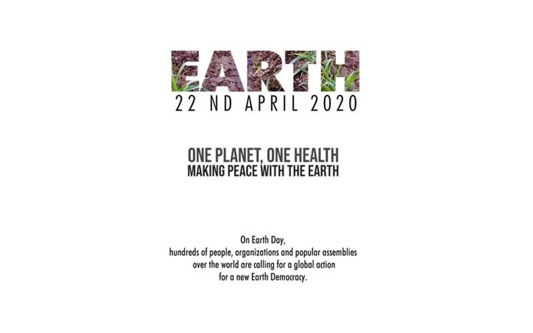 Press release: Earth Day Communique