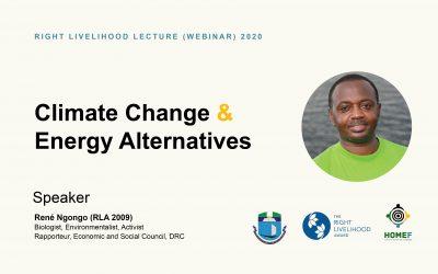 Right Livelihood Lecture (Webinar) 2020