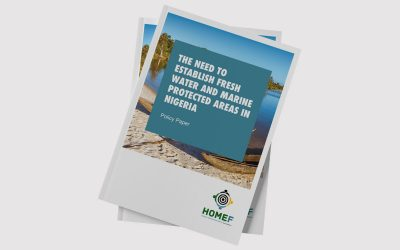 The Need to Establish Fresh Water and Marine Protected Areas in Nigeria (Policy Paper)