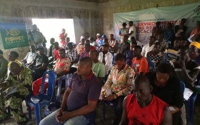 Costal community monitoring, HOMEF engages fishers